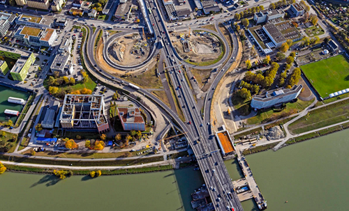 Voest-Bypassbrücken (Foto: PTU/Pertlwieser)