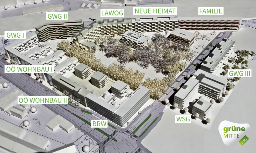 Grune Mitte Linz Das Projekt Stadt Linz